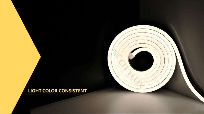 Light Color Consistent Neon Flexible Strip