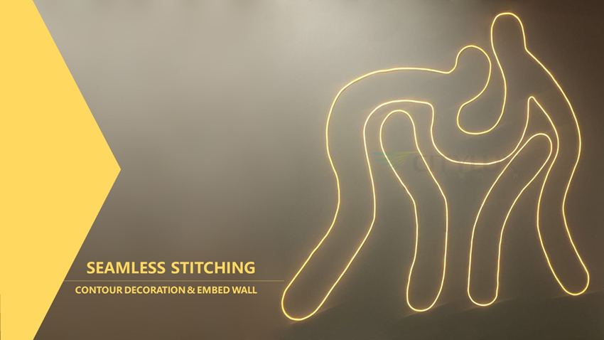SEAMLESS STITCHING Neon Flexible Strip