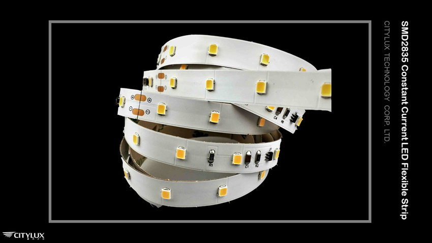 High CRI SMD 2835 Constant Current LED Flexible Strip