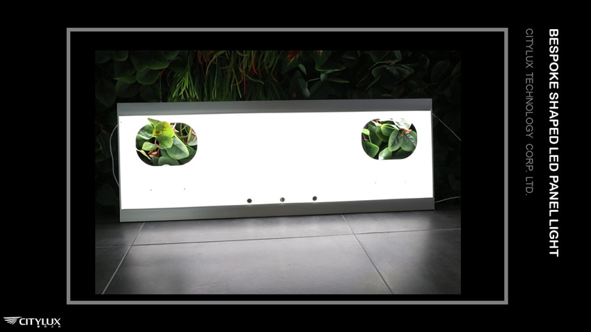 Back light led panel light